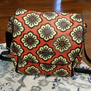 EUC RARE Petunia Pickle Bottom Diaper Bag